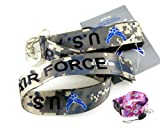 "Military Camouflage ""US Air Force"" Lanyard & Free Lanyard"