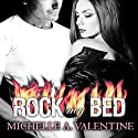 Rock My Bed: Black Falcon, Book 2 (       UNABRIDGED) by Michelle A. Valentine Narrated by Aletha George, Allen Steele