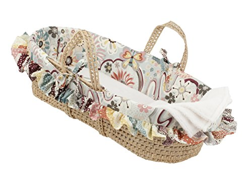 Cotton Tale Designs Moses Basket, Penny Lane