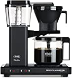 Technivorm-Moccamaster KBG 741 10-Cup Coffee Brewer with Glass Carafe, Matte Black