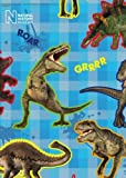 Natural History Museum - Giftwrap (2 sheets folded) and tags (2)