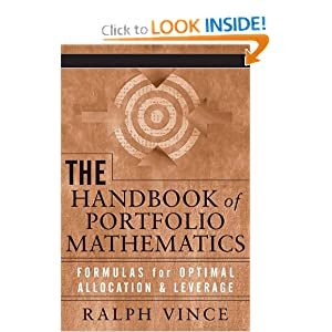 The handbook of portfolio mathematics Ralph Vince