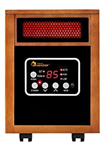 Amazon Com Dr Infrared Heater Portable Space Heater 1500