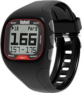 Bushnell Golf Neo Plus Golf Uhr Watch Black