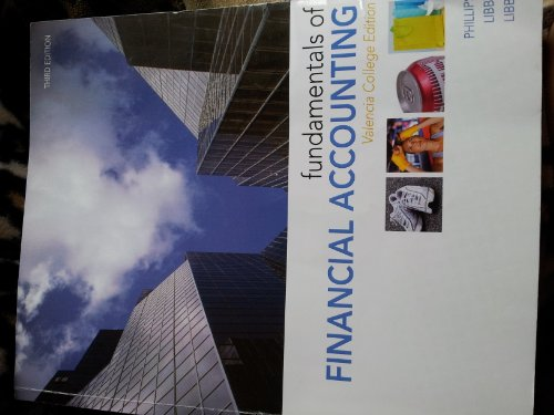 Fundamentals of Financial Accounting (Valencia College Edition)