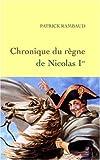 echange, troc Patrick Rambaud - Chronique du règne de Nicolas Ier