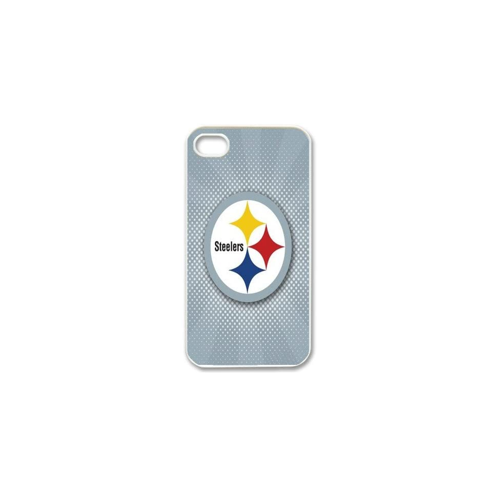 NFL Pittsburgh Steelers iPhone 4/4s Cases made of PC plastic Steelers logo