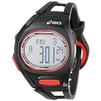 [アシックス ランニングウォッチ]ASICS RUNNING WATCH AH01 Heart Rate Monitor  ブラック/レッド CQAH01.01