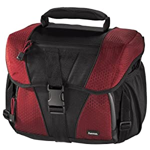 Hama Rexton 140 Camera Bag - Black/Red