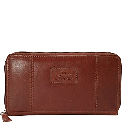 mancini-leather-goods-ladies-rfid-clutch-wallet-cognac
