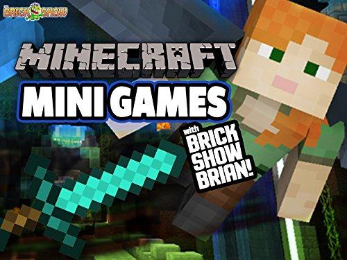 Clip: Minecraft Mini Games with Brick Show Brian! - Season 1