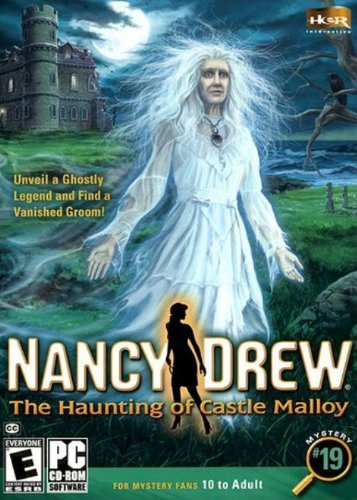 Nancy Drew - Le château hanté de Malloy (vf - French game-play) - Standard Edition