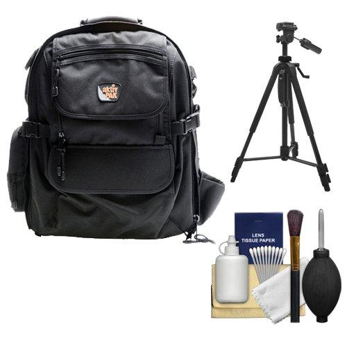 Aktiv Pak Ap400 Professional All Weather Multi Purpose Camera & Photo/ Computer Laptop Backpack + Kit For Canon Eos 70D, 6D, 5D Mark Iii, Rebel T3, T5, T5I, Sl1, Nikon D3200, D3300, D5200, D5300, D7100, D610, D800, Sony Alpha A65, A77, A99