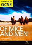 Book - Of Mice and Men: York Notes for GCSE