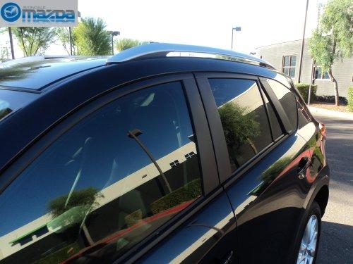 MAZDA CX-5 SKYACTIV NEW OEM ROOF RACK SIDE RAILS (Mazda Cx5 Roof Rack compare prices)