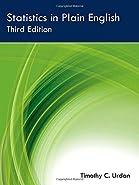 Statistics in Plain English Third Edition