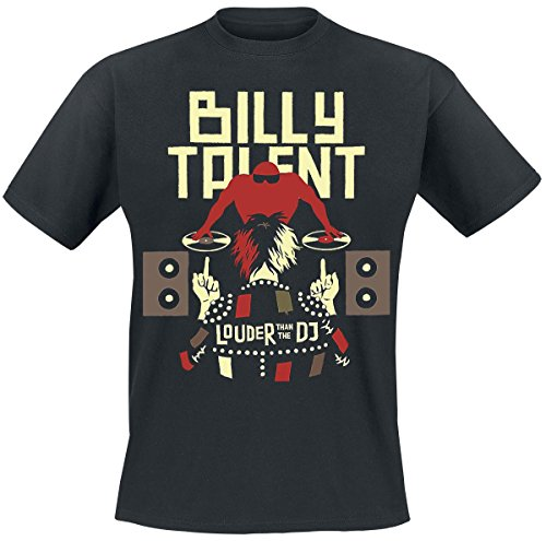 billy-talent-louder-than-the-dj-t-shirt-schwarz-l