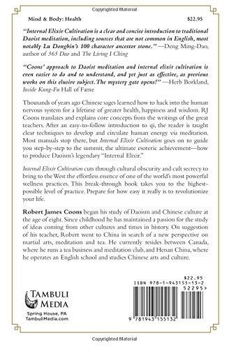 Internal Elixir Meditation: The Nature of Daoist Meditation