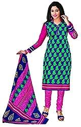 KOMAL ARTS Ethnicwear Women's Dress Material (Multi-Coloured_Free Size)