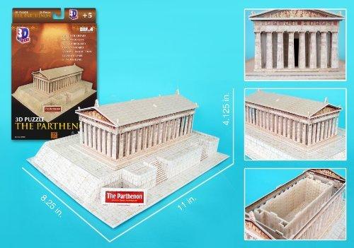 Daron Parthenon 3D Puzzle, 25-Pieces Model: CF076H - 1