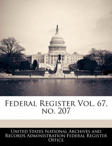 Federal Register Vol. 67, no. 207