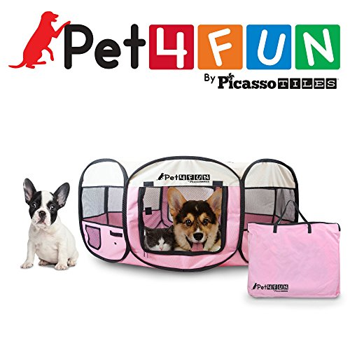 Portable Pet Playpen 35