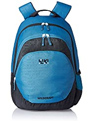 Wildcraft 29 Liters Multi-Colour Casual Backpack (Bricks 2 Blue)