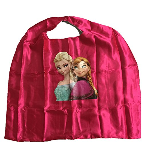 Starkma Kids Snow Queen Elsa and Anna Cape + Mask Costume