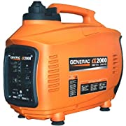 Generac 5793 iX2000 2000 Watt 126cc 4-Stroke OHV Gas Powered Portable Inverter Generator