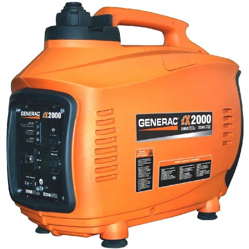 Generac 5793 iX2000 2,000 Watt 126cc 4-Stroke OHV Gas Powered Portable Inverter Generator