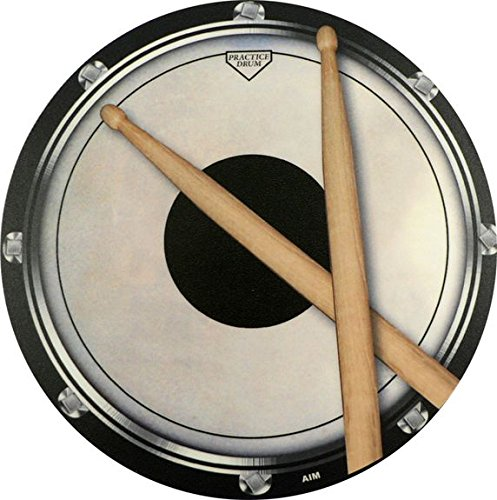 Mouse Mat Drum Practise Pad Sticks