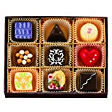 ゴンチャロフ ブーケドショコラデセール(チョコレート) 9個 ※秋冬限定商品