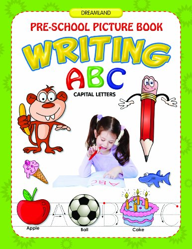 ABC Capital Letters Writing (Pre-School Picture Books) Image