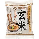 オーサワジャパン ヘルシー玄米ラーメン(胡麻味噌) 112g