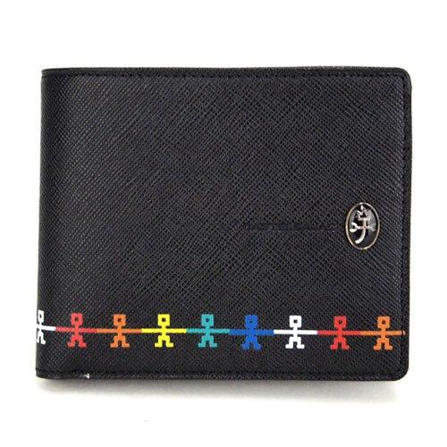 (カステルバジャック) CASTELBAJAC アンジェシリーズ 二つ折り財布/2つ折財布 066602/066682 (クロ)