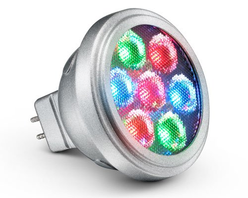 Philips Icolor Mr16 Gen3 Led Lamp, Dmx Controllable 30 Degree Beam