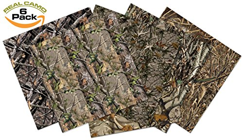 NEW Real Camouflage Premium Self Adhesive Assorted Vinyl