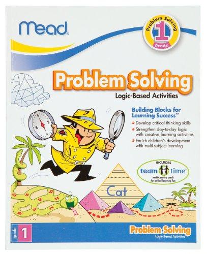 Mead 1St Grade Problem Solving Workbook, 10 X 8-Inches, 96 Pages (48028) front-425039