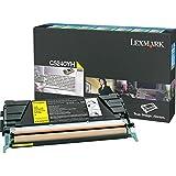 Lexmark Yellow High Yield Return Program Toner Cartridge -Yellow -Laser -5000 Page -1 Each