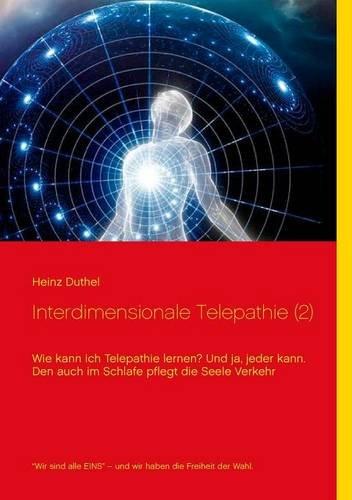Buchcover: Interdimensionale Telepathie (2)