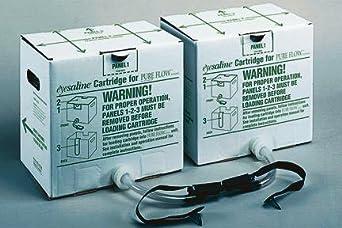 Fendall Eyesaline Cartridges for Pureflow 1000 Portable Emergency Eyewash Stations, Eyesaline Replacement Cartridge
