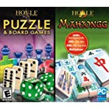 Hoyle 2 Pack: Puzzle & Board Games + Mahjongg