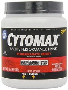 CytoSport Cytomax Sport Energy Drink, Pomegranate Berry, 1.5 Pound