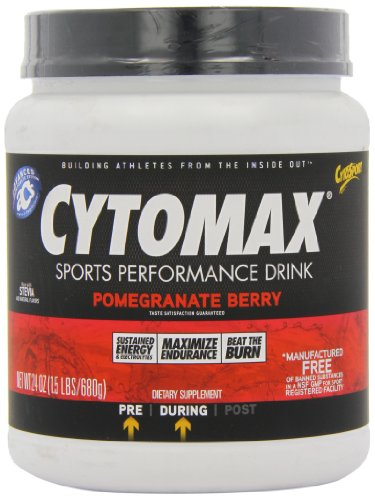 Cytosport Cytomax Sport Energy Drink, Pomegranate Berry, 1.5 Pound