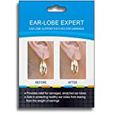 5 Months Supply EAR-LOBE EXPERT 175 Days Supply Invisible Earring Support Patches, 350-count Boxes