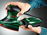 Bosch-DIY-Multischleifer-PSM-160-A-3-Schleifbltter-Karton-160-W-Schwingzahl-24000-min-1-Schwingkreis--16-mm