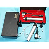 NEW!! LED LENSE Veterinary/Surgical Operating Otoscope Kit + 1 Forcep+1 Bulb ( CYNAMED BRAND )