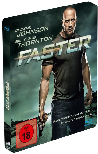 Faster (Limited Steelbook Edition) [Blu-ray]