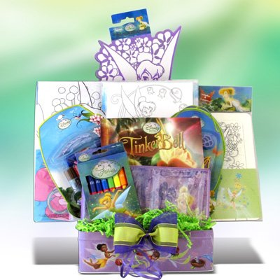 Tinkerbells Creativity Basket Great Get Well Birthday Gift Ideas For Girls Under 10