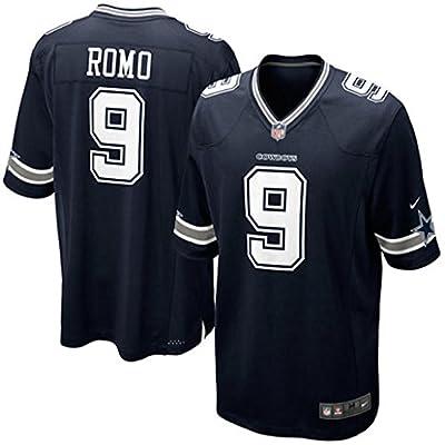 Men's Dallas Cowboys Tony Romo Nike Navy Blue Team Color Game Jersey